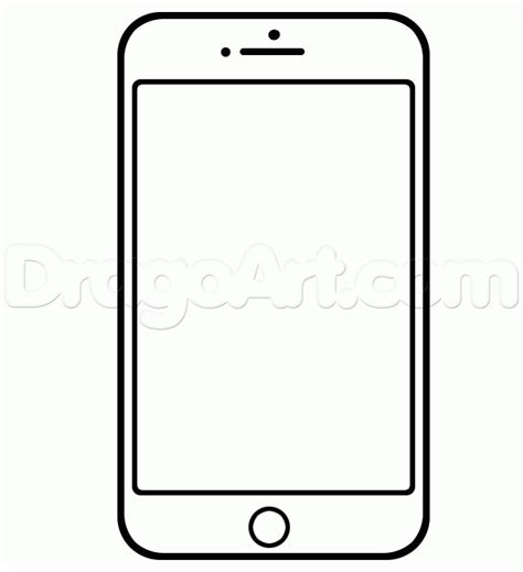 doodle draw iphone how to draw an iphone 5s iphone 5s step by step stuff