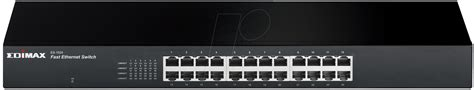 Edimax Es 1024 24 Port Fast Ethernet Rack Mount Switch edi es 1024 24 port 10 100 mbit s switching hub rack