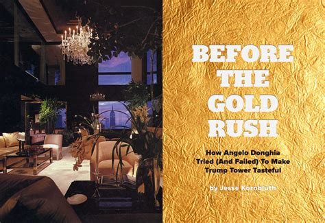 trump tower gold room how angelo donghia tried and failed to make trump tower