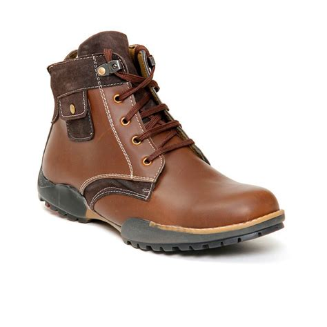 bacca bucci brown boots buy bacca bucci leather boots brown 5537 at best