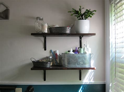 small bathroom shelf ideas bathroom shelving escape from bk