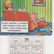 imagenes verdes picantes calendario 1991 serie humor chistes picante comprar