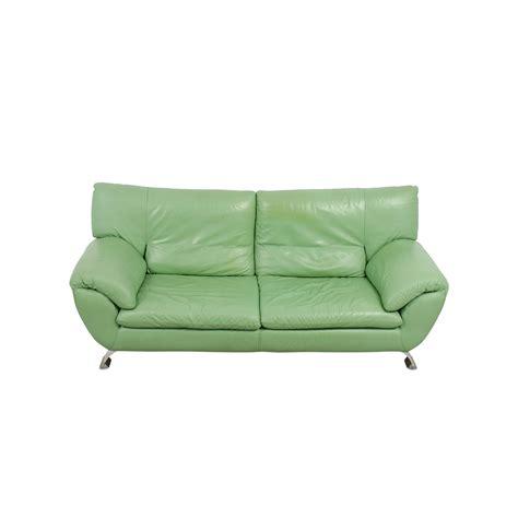 green leather sofa 67 nicoletti nicoletti green leather sofa sofas