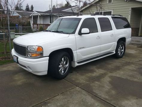 auto air conditioning service 2003 gmc yukon xl 1500 electronic valve timing purchase used 2003 gmc yukon xl 1500 denali sport utility 4 door 6 0l in tacoma washington