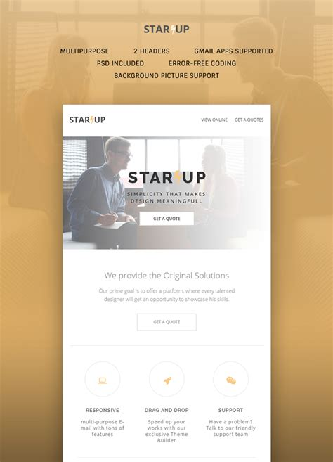 Startup E Newsletter Template Buy Premium Startup E Newsletter Template Theem On Buy Newsletter Templates