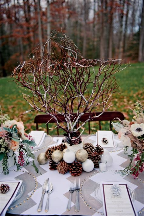 winter wedding table decor diy winter table wedding decorationwedwebtalks wedwebtalks