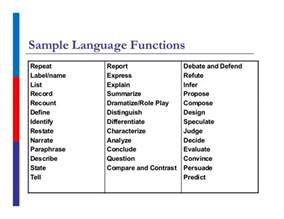 language objectives for elementary ells handouts