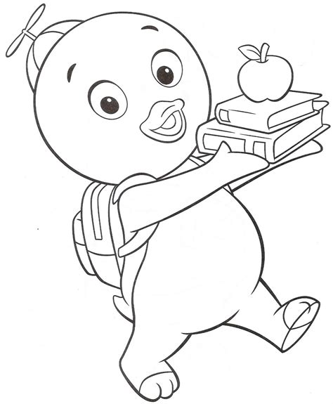 coloring page free printable free printable backyardigans coloring pages for kids