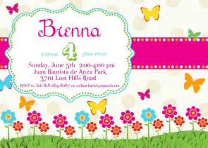 Butterfly Invitation Template butterfly birthday invitations template best template