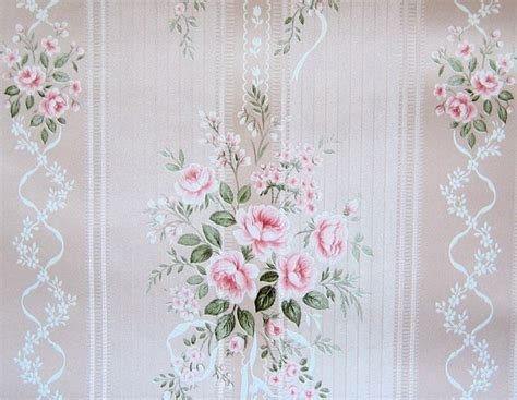 shimmery shabby chic vintage wallpaper by becaruns on etsy