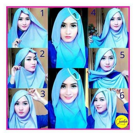 tutorial jilbab segitiga turban best 25 tutorial hijab segitiga ideas on pinterest