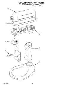 diagram for kitchenaid mixer diagram free engine image