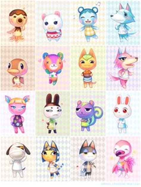 list of acnl characters animal crossing new leaf qr codes on pinterest animal