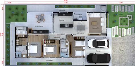 planta de casa cozinha integrada projetos de casas