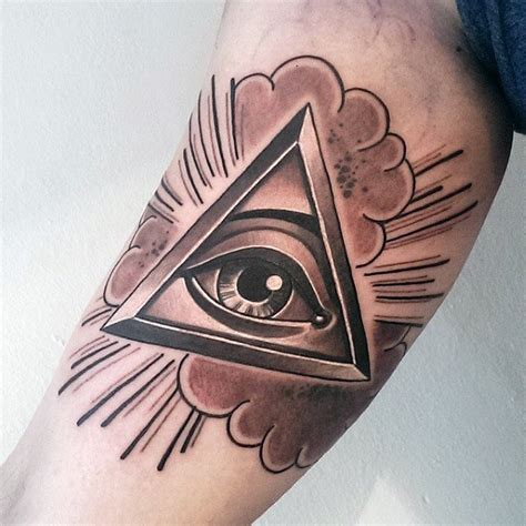 eyeball armpit tattoo 100 inner arm tattoos for men masculine design ideas