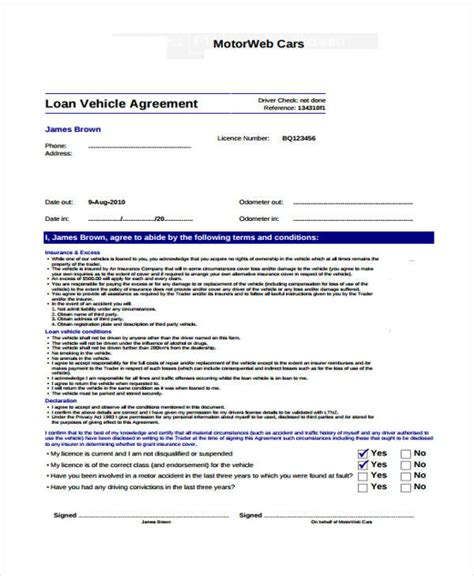 Loan Rehabilitation Agreement Letter 40 Printable Loan Agreement Forms
