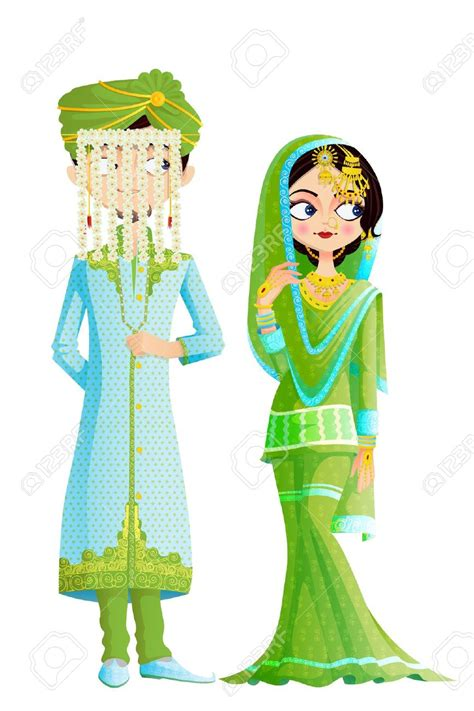 Jiekley Lukisan The Presentation And Marriage Of The And T muslim wedding clipart 101 clip
