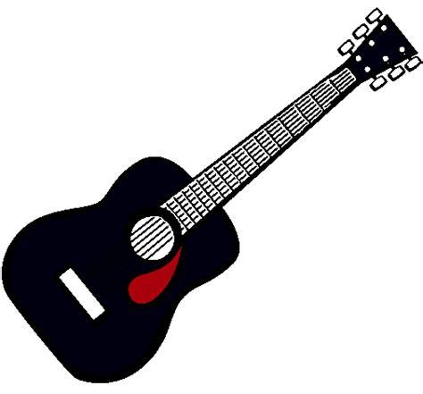 imagenes de guitarras rockeras para colorear dibujo de guitarra espa 241 ola ii pintado por guitarra en
