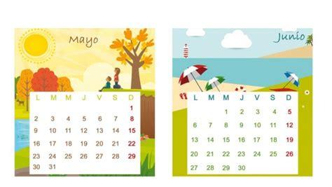 Calendã Mãªs De Maio Im 225 Genes De Calendarios Infantiles De Mayo 2016 Para