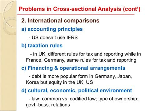 cross sectional ratio analysis is used to 7 limitations of ratio analysis
