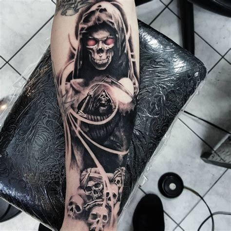 75 Creative Grim Reaper Tattoos Creative Grim Reaper Tattoos