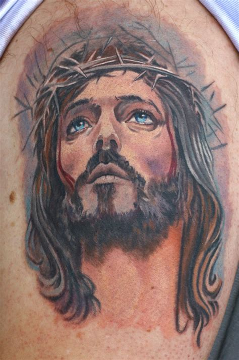 jesus tattoo youtube jesus by todo tattoonow