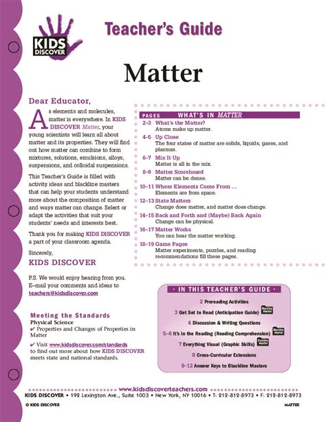 What Is Matter Worksheet by Physical Properties Of Matter Worksheet For