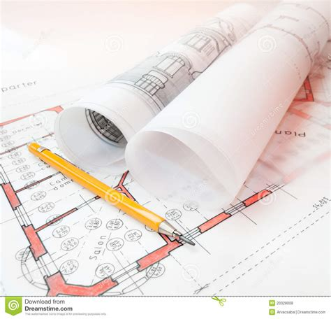 pictures of plans architecture plans royalty free stock photos image 20328008