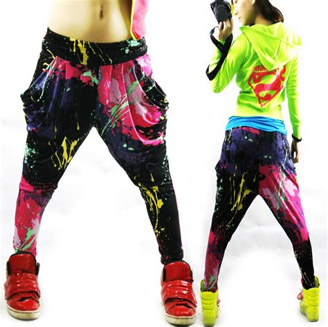 about dance on pinterest clothes for girls sweatpants and red high new fashion brand jazz harem women hip hop pants dance