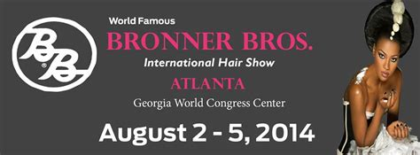 bb hair show atlanta address bronner bros international hair show industry