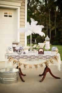Vintage backyard wedding via kara s party ideas kara spartyideas com