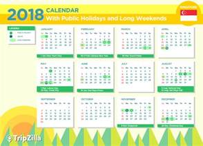 Kalender Hari Raya 2018 9 Weekends In Singapore In 2018 Bonus Calendar