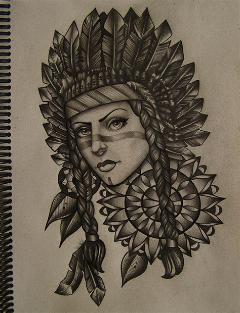 indian woman tattoo designs indian by frah on deviantart