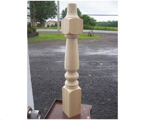 36 inch tall large table leg