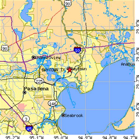 where is baytown texas on the map baytown texas tx population data races housing economy