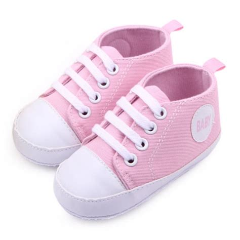 Infant Toddler Sneakers Baby Boy Girl Soft Sole Crib Shoes Baby Crib Sneakers