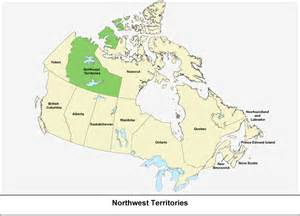 map of northwest territory canada northwest territories