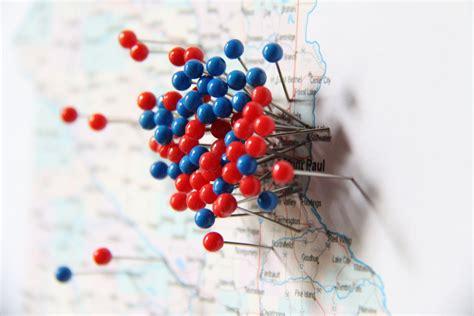 map pins 10 cities minnesota map blue pins mccarron