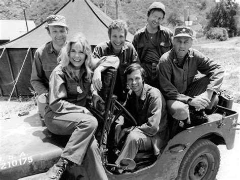 mash jeep lists of television cast