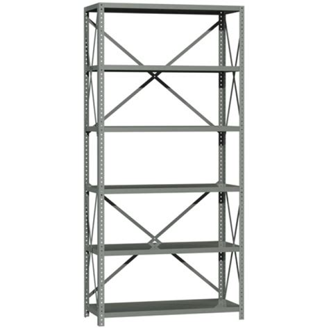 Steel Storage Shelves by British Standard Braced Steel Bolted Shelving System