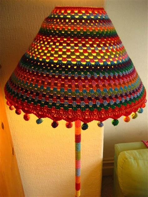 pattern crochet lshade 15 crochet lshades to light into your home diy to make