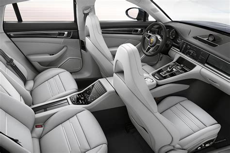 Porsche Panamera White Interior by 2017 Porsche Panamera Turbo Interior White Autobics