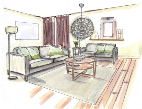 living room drawing kathleen jennison inc interior designer interior