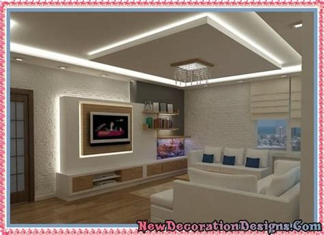 ceiling decorations for living room modern living room decoration ideas and trendy gypsum
