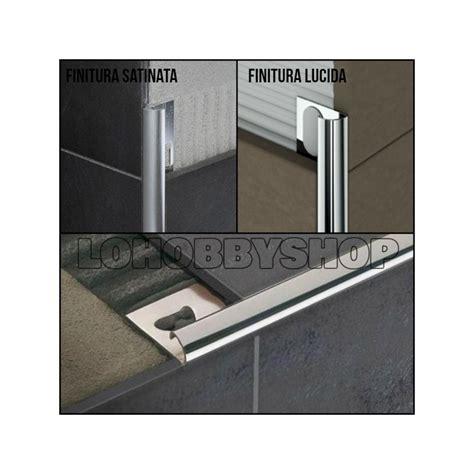 piastrelle alluminio angolo per piastrelle alluminio satinato mm 8