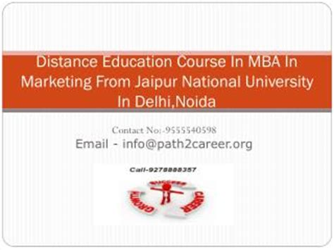 Mba In Gurgaon Distance Education by Ppt Distance Education Course In Mba In It Management In