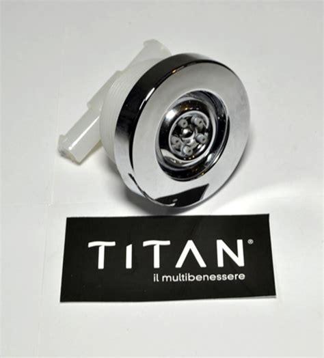 ricambi box doccia titan titan bocchetta idromassaggio per box doccia 1 pz bagno