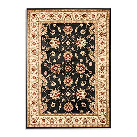 vanity bath rug safavieh vanity black ivory rug bed bath beyond