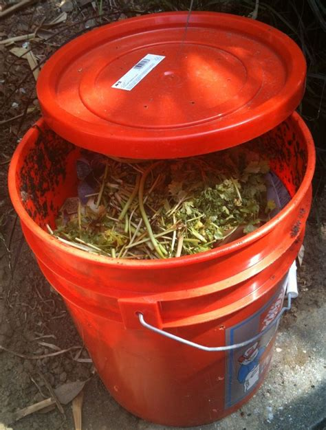 how to make your own composter for cheap garden
