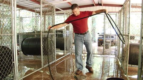 10 X 10 Ft Plastic Kennel Floor - building a kennel